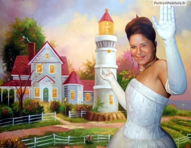 portrait-femme-peinture-apres-photo