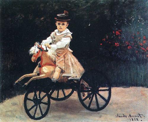 Jean-Monet-sur-un-cheval-mécanique