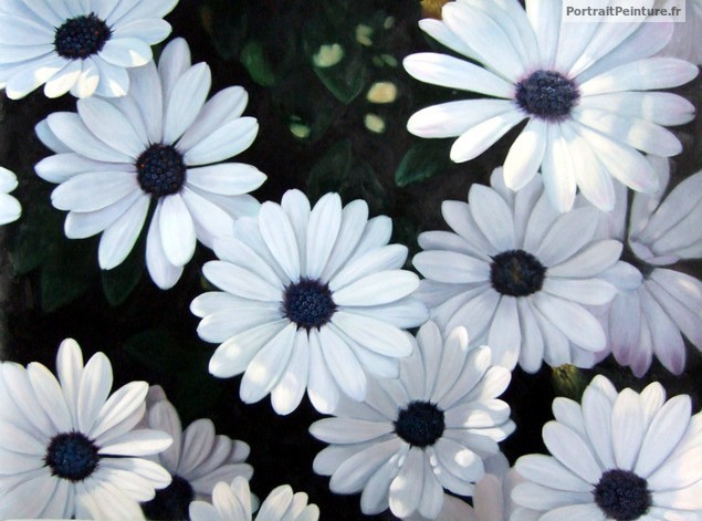 peinture-fleurs