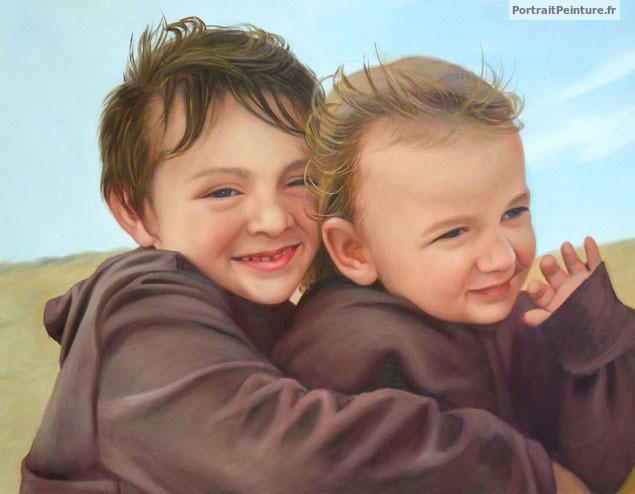 peinture-enfant-portrait-d