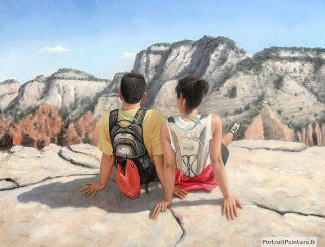 portrait-ou-paysage-peinture