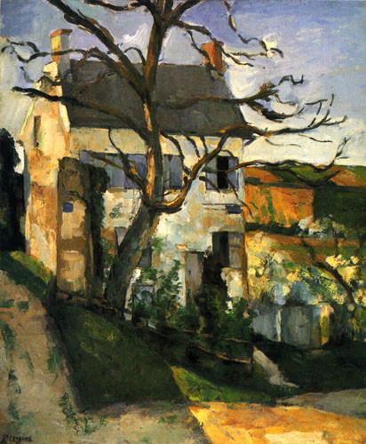 Paul-Cézanne-La-Maison-et-l'Arbre