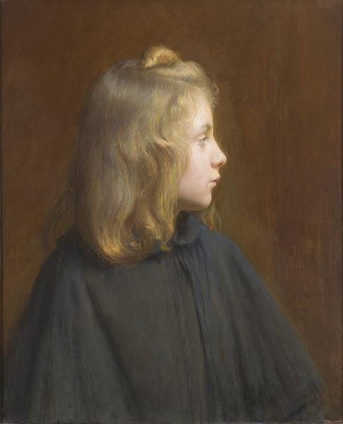 Léon delachaux, peinture à l'huile,  Suzanne