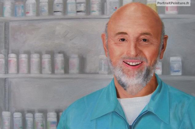 portrait-peinture-homme-pharmacien