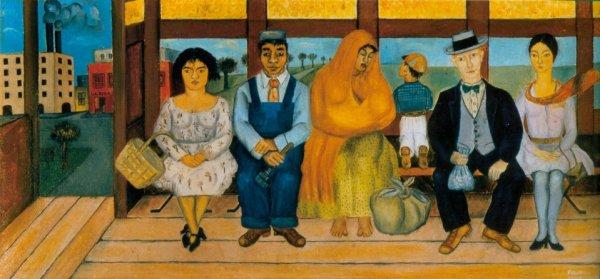 Peinture de Frida Kahlo, L'autobus