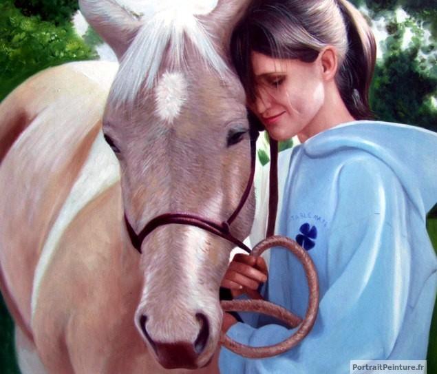 portrait-peinture-cheval-cavaliere