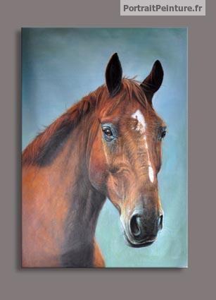 portrait-peinture-cheval-animalier