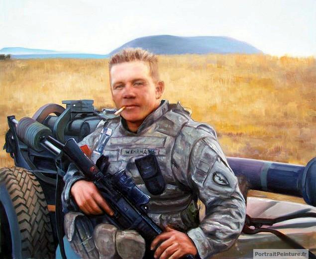 portrait-peinture-militaire