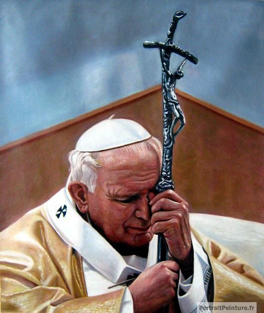 peinture-religieuse-chretien-jean-paul-pape