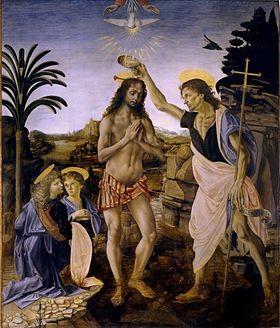 Leonard-de-Vinci-Le-Bapteme-du-Christ