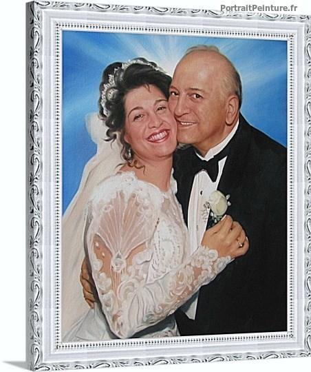 portrait-peinture-mariage-tableau