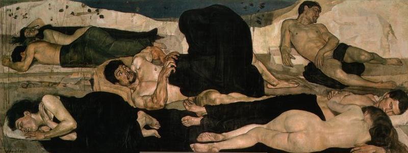 Ferdinand Hodler - La nuit