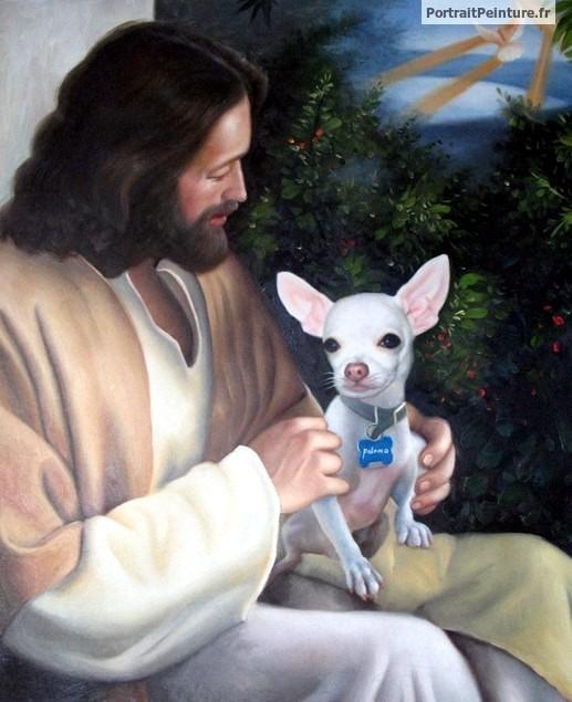 tableau-jesus-christ-portrait-peinture