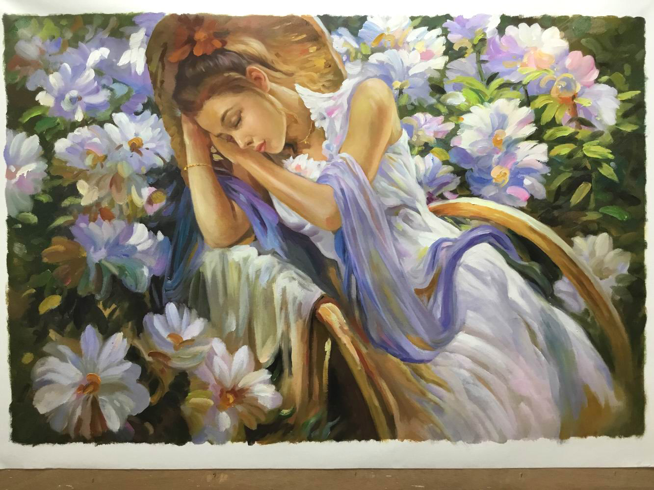 portrait-peinture-jeune-homme-tableau