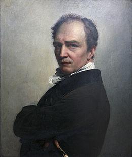 Peinture autoportrait de francois joseph navez