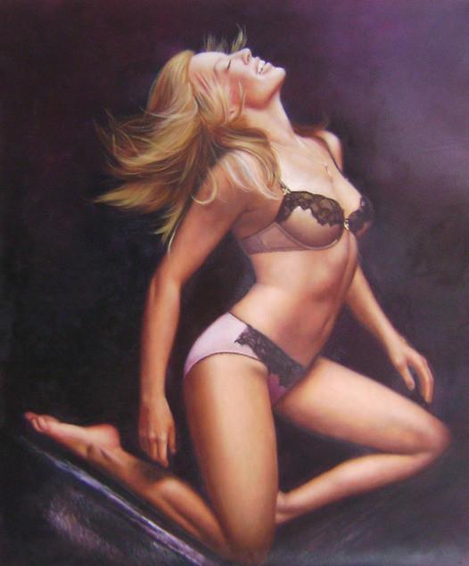 femme-nue-portrait-peinture-tableau