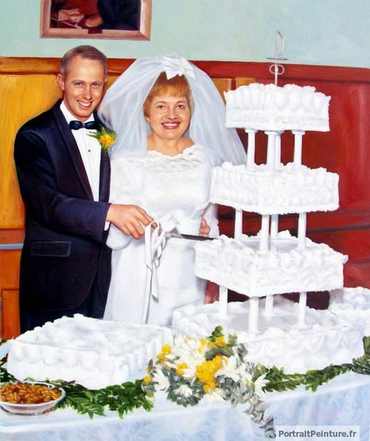 portrait-peinture-mariage-d-apres-photo