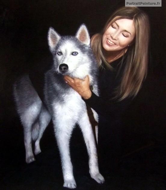 portrait-chien-peinture-animal