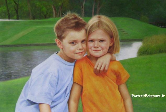 portrait-peinture-enfant-tableau
