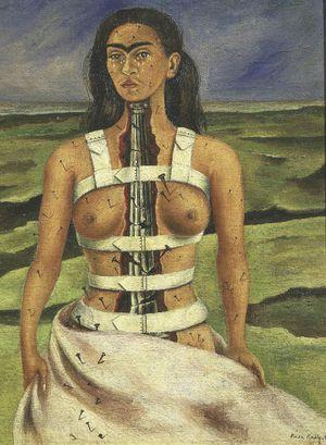 Peinture de Frida Kahlo, La Colonne Brisée