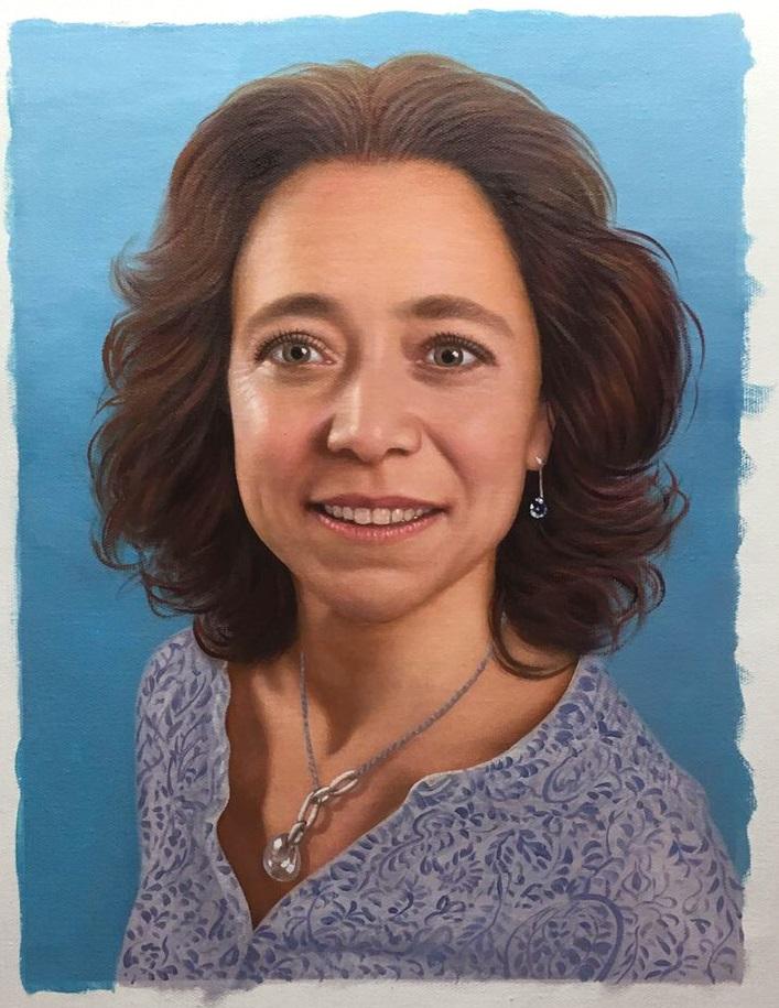 peinture-de-femme-tableau-portrait