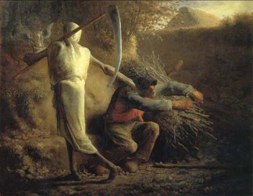 La-Mort-et-le-bûcheron-de-Jean-François-Millet