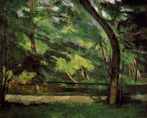 Paul-Cézanne-L'Etang-des-Soeurs-à-Osny