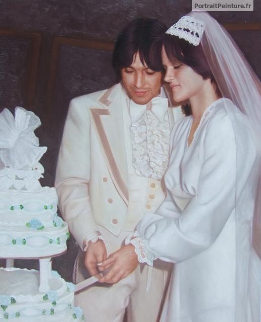portrait-peinture-mariage-huile