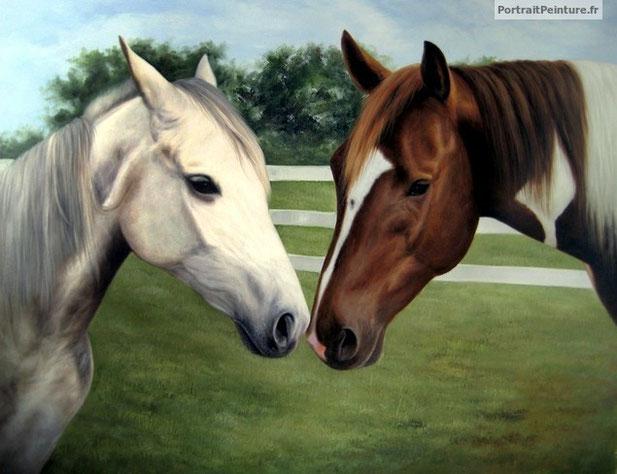portrait-peinture-chevaux-equitation