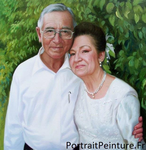 portrait-peinture-couple-mariage