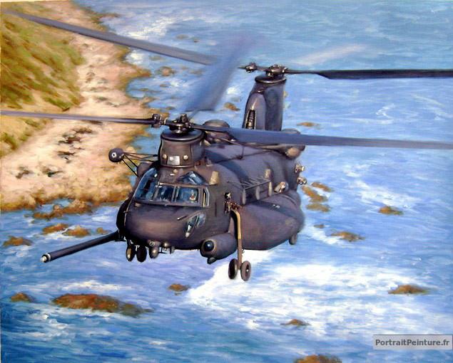 peinture-hélicoptère-tableau