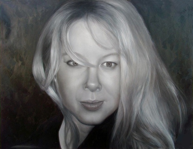 Portrait-peinture-noir-et-blanc-tableau