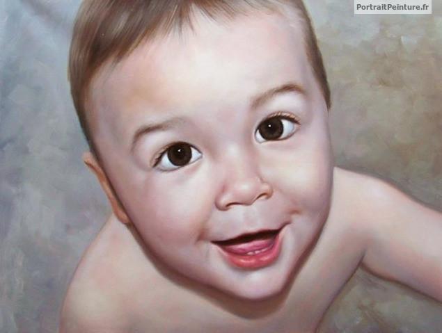 bebe-portrait-peinture