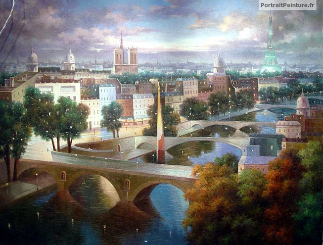 portrait-peinture-paysage-paris