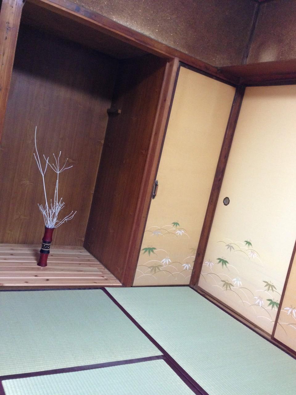 和室6帖です。見違えました。