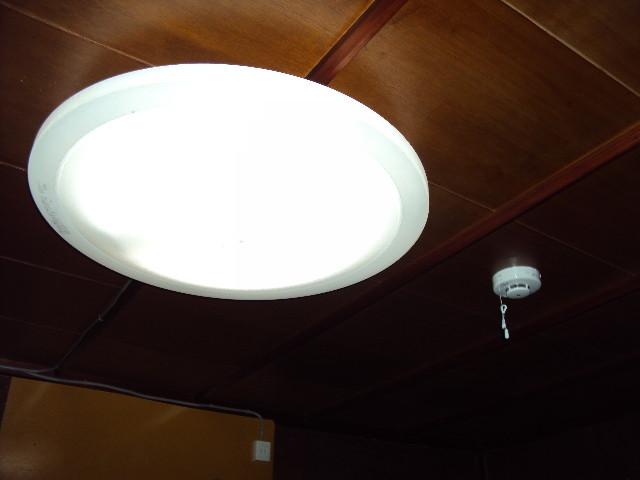リモコン付き照明器具と 火災警報器