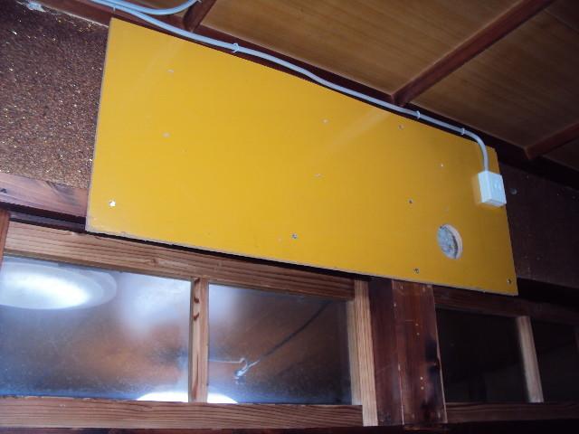 和室には、簡単にエアコン取付可