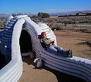 superadobe dome earthbag california