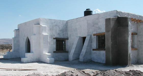 earthbag house building