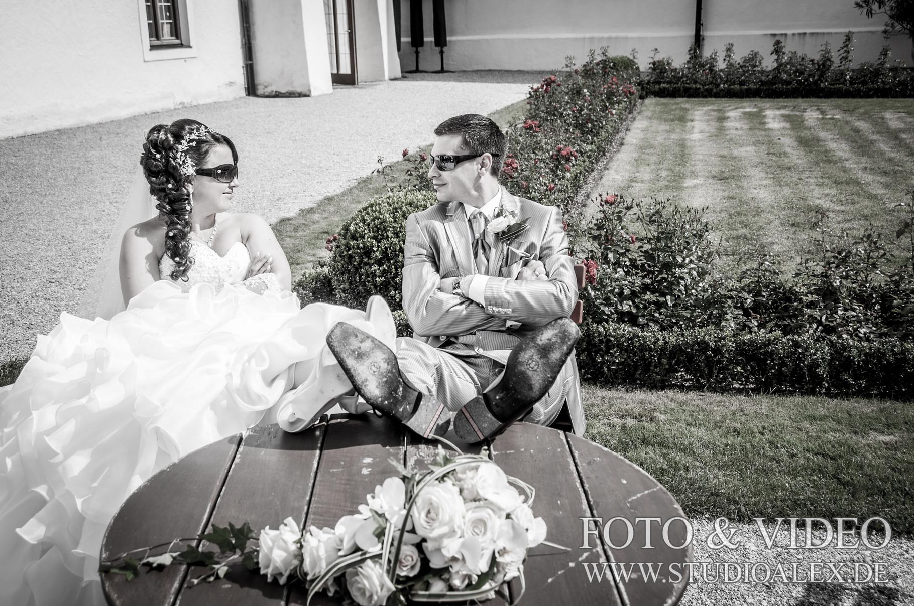 Kreative Hochzeitsfotos in München