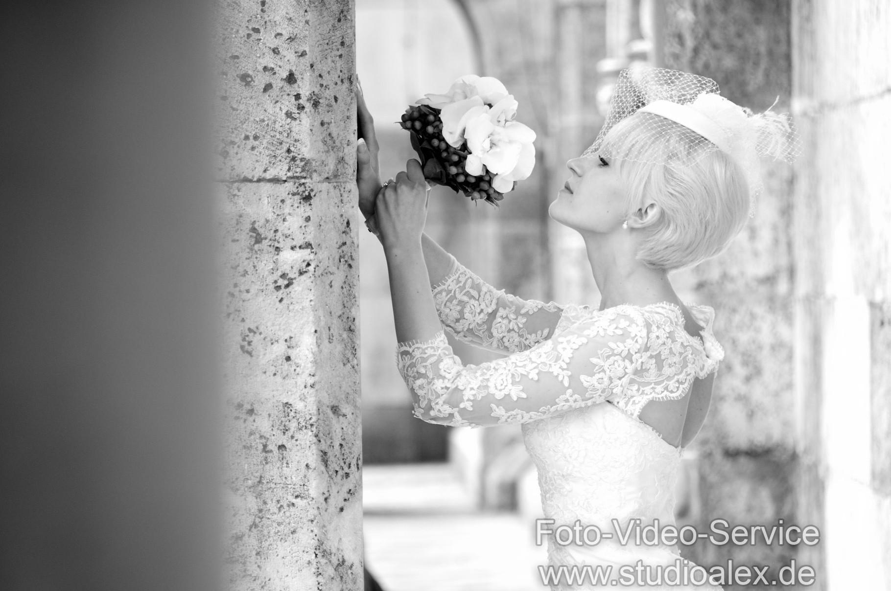 Hochzeitsfotos in Regensburg Domplatz