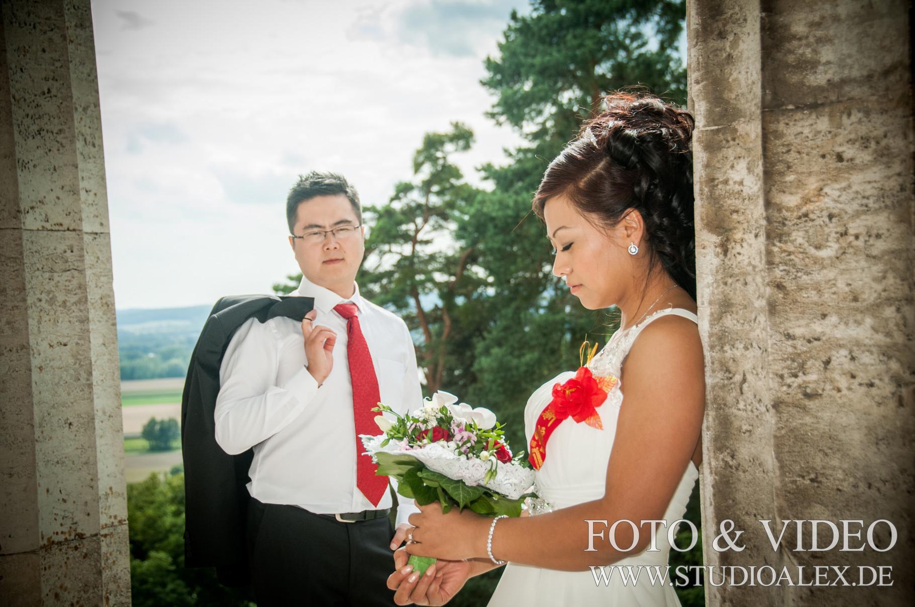Chinesische Hochzeit in Regensburg, Neutraubling