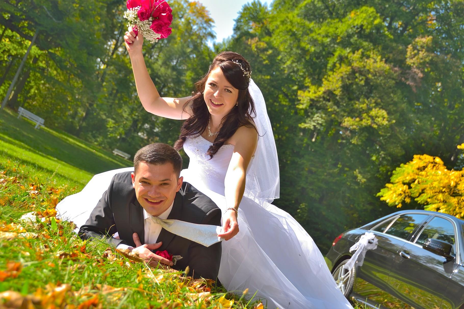 Kreative Hochzeitsfotos in Regensburg