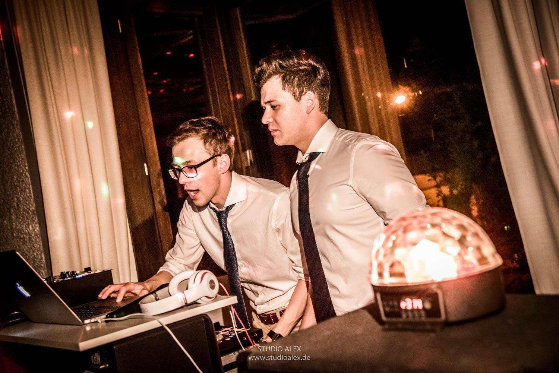 DJ Vladi Mosbach auf der Hochzeit in Straubing
