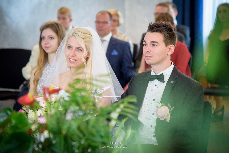 Fotograf für die standesamtliche Trauung in Straubing
