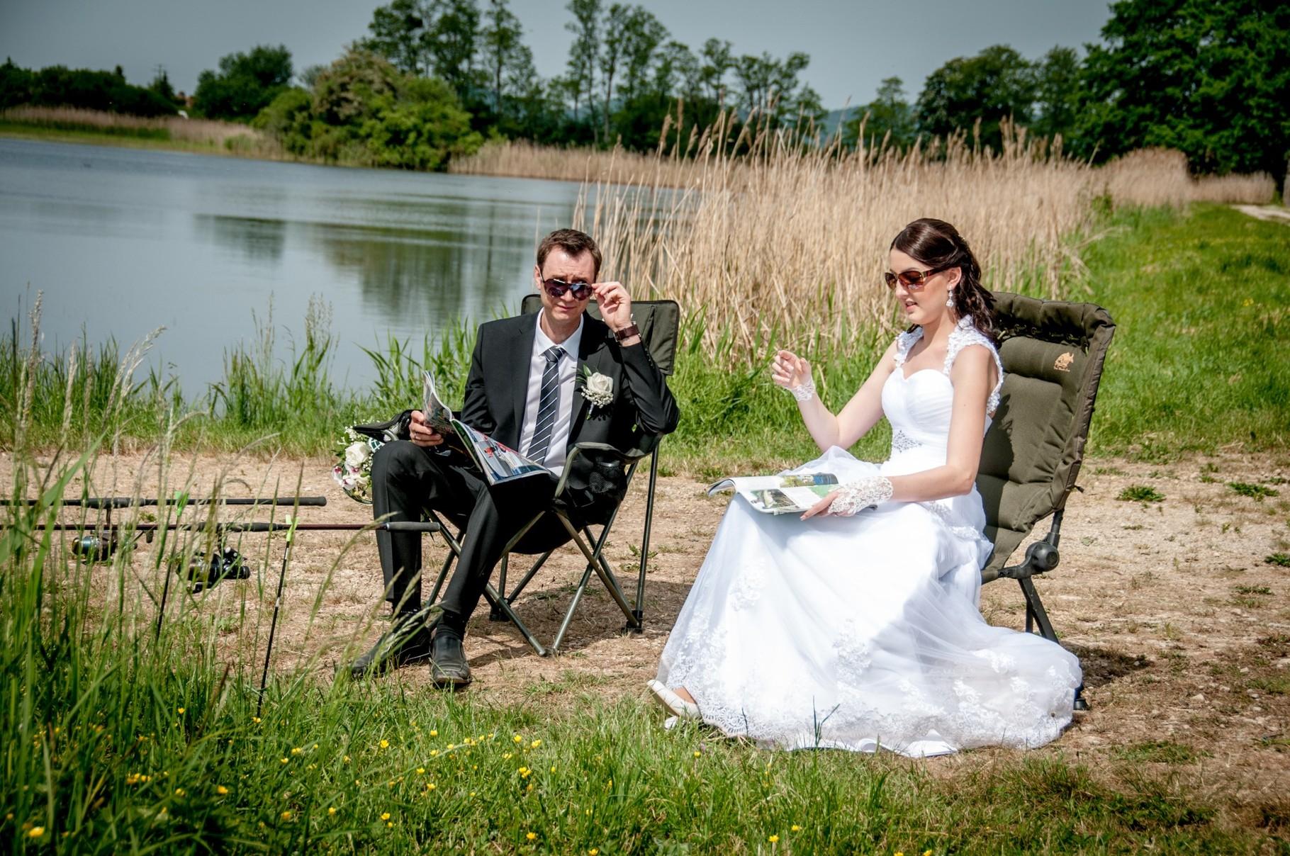 Ideen für lustige Hochzeitsfotos in Bamberg