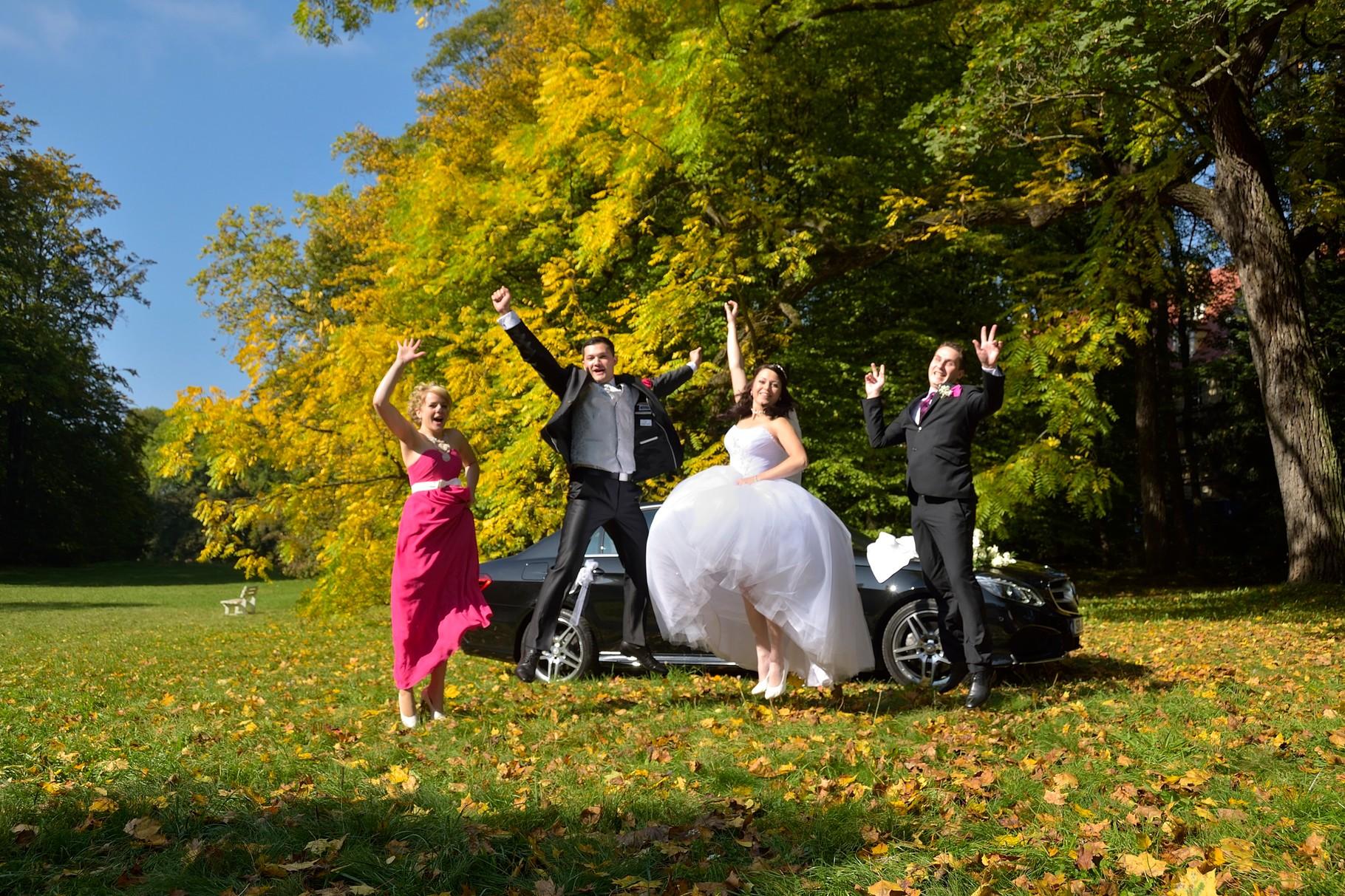 Gruppenfotos für Hochzeit in Regensburg