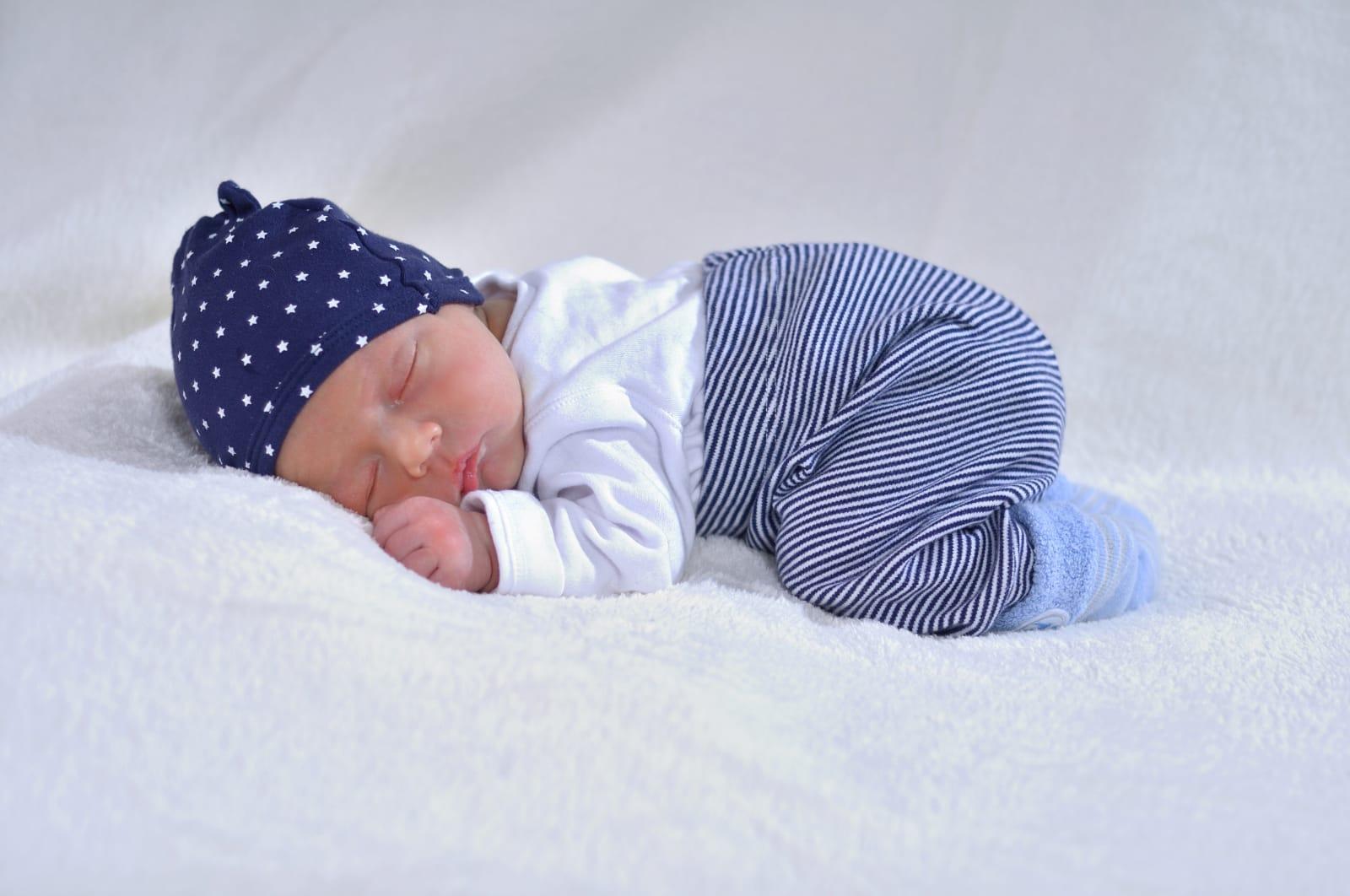Babyfotos im warmen Fotostudio Amberg