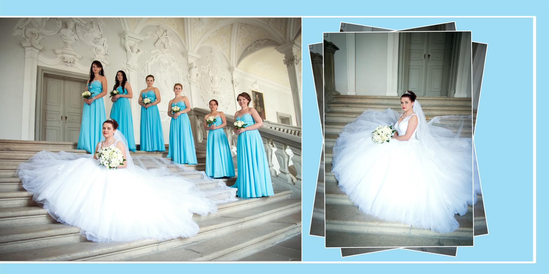 Hochzeitsalben vom Fotografen in Ansbach