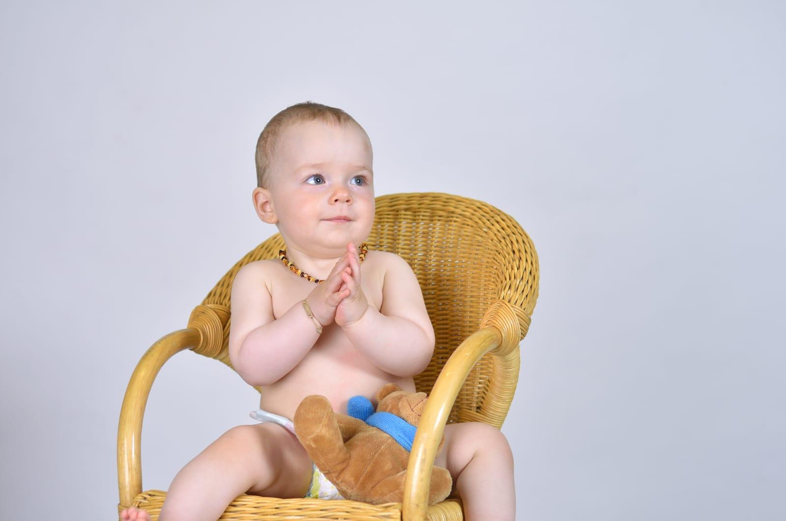 Babyfotos im Fotostudio Amberg